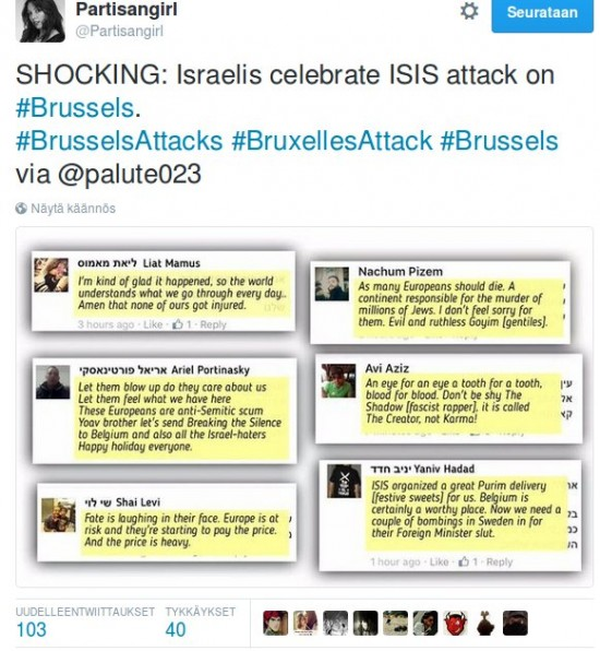israel in Brussels
